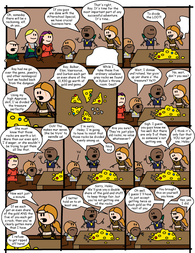 The Order Of The Stick #129